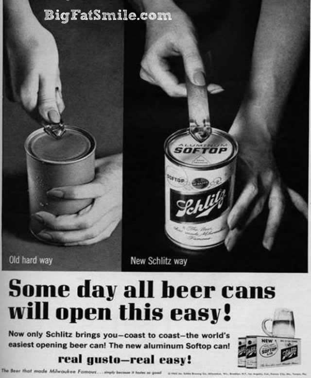 Some day, all beer cans will open this easy! photo